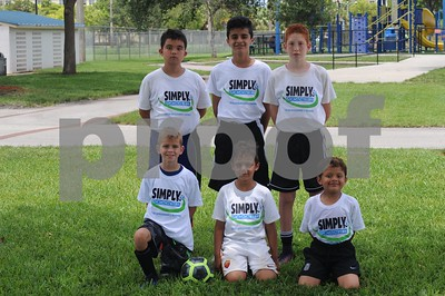 Simply Soccer Summer Camp 2017 Week 4