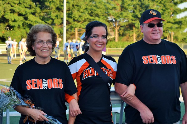 Senior Night Football, Cheer, Track