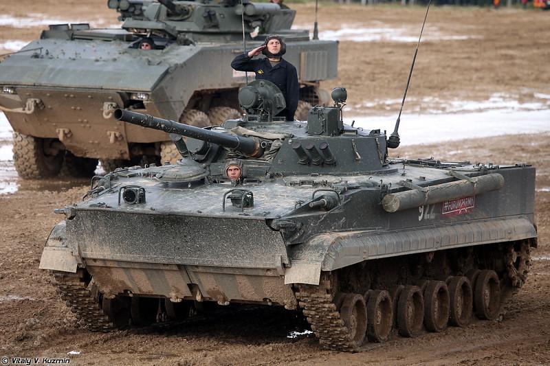 БМП-3 (BMP-3 infantry fighting vehicle)