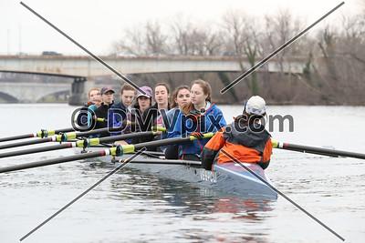 Yorktown Girls Boat 1 (06 Mar 2017)