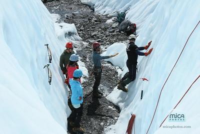 July 6 - Ice Climbing with Scott