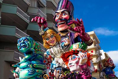 Sciacca Carnival in Sicily 2018