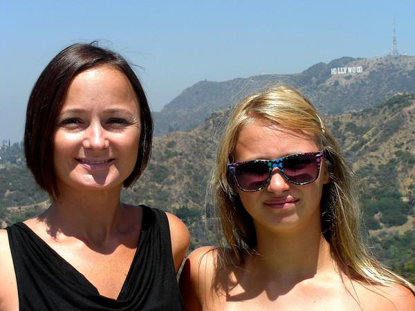 B Rod and D Gurl Cali Trip 2011