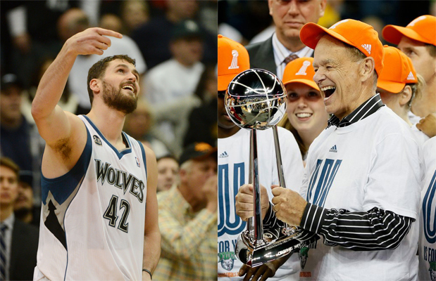 """. 1. KEVIN LOVE & GLEN TAYLOR <p>Bitter! Party of two! (unranked) </p><p><b><a href=\""""http://www.twincities.com/sports/ci_26415247/kevin-love-glen-taylor-worry-about-your-own\"""" target=\""""_blank\""""> LINK </a></b> </p><p>   (Pioneer Press, Getty Images file photos)</p>"""