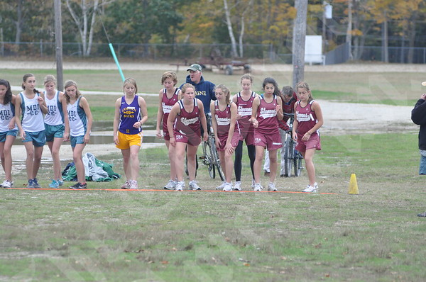 Ellsworth Boys and Girls Win County Cross-Country Crowns