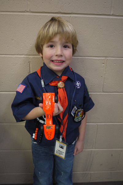 Cub Scouts - Pinewood Derby - 2012