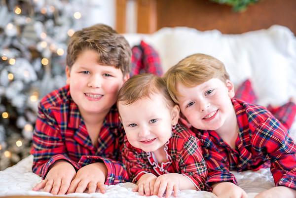 Campbell: Christmas PJs