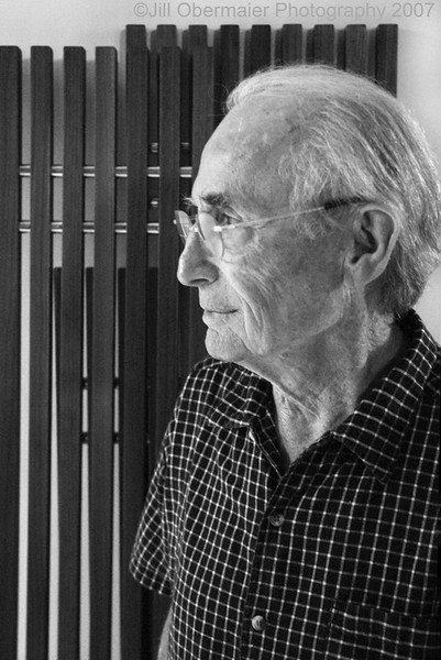 Portrait of Designer Hugh Acton for Modernism Magazine