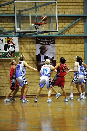 Womens Perth Rebacks vs Willetton Tigers 06/08/2010