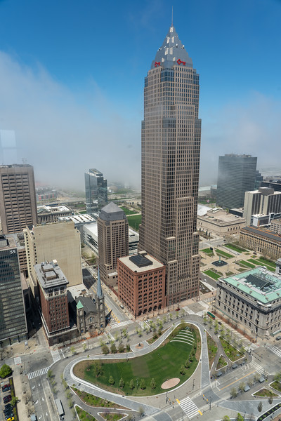 View from Terminal Tower Observation Deck