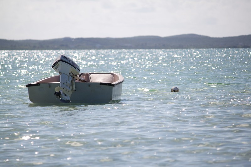 The little boat we used for fishing