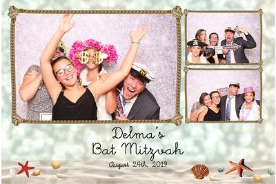 Delma's Bat Mitzvah 8-24-19