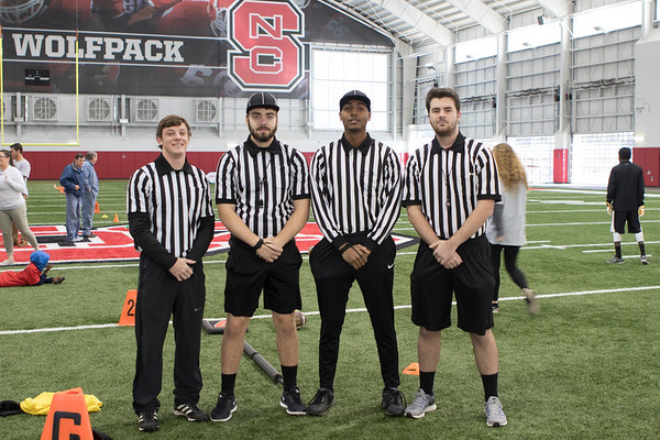 2017 UNC vs NC State Unified Rivalry Flag Football Game