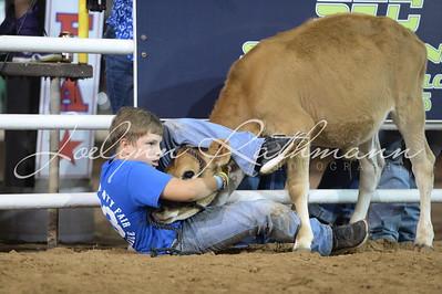 Friday Night Calf Scramble
