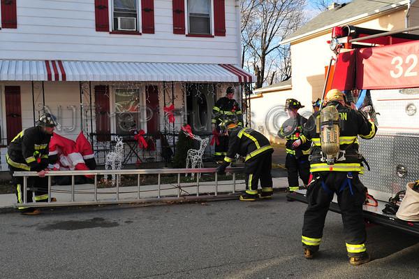 WHARTON, NJ ATTIC FIRE 31 WASHINGTON ST. 12/8/10