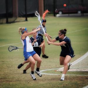 UF Women's Lacrosse vs Penn State 2010