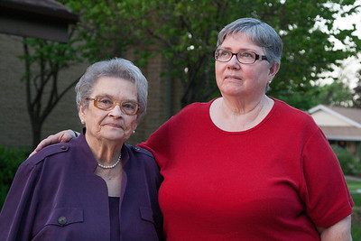 Myrna Magby and Carolyn Goode May 16, 2014