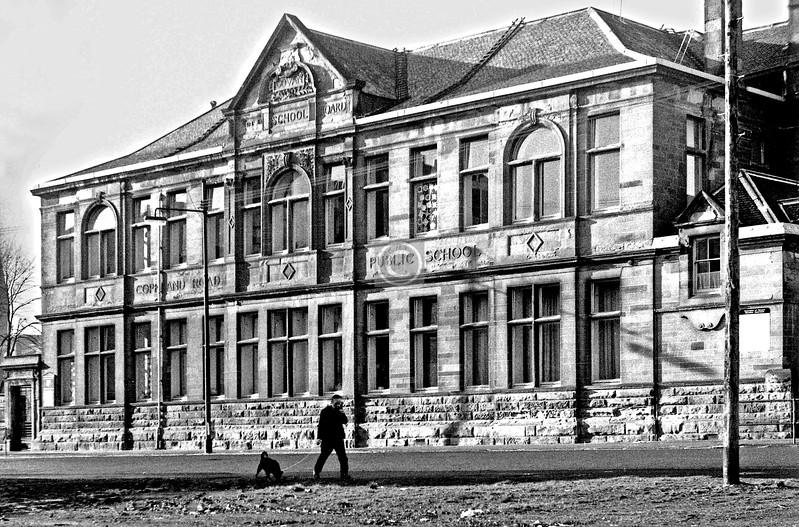 Copland Road School.      February 1974