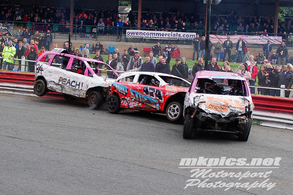 Bangers, Hednesford Hills Raceway, 1 May 2016