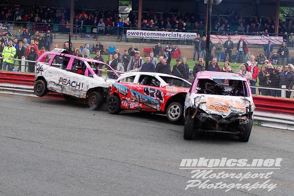 Bangers, Hednesford Hills Raceway, 1 May 2016
