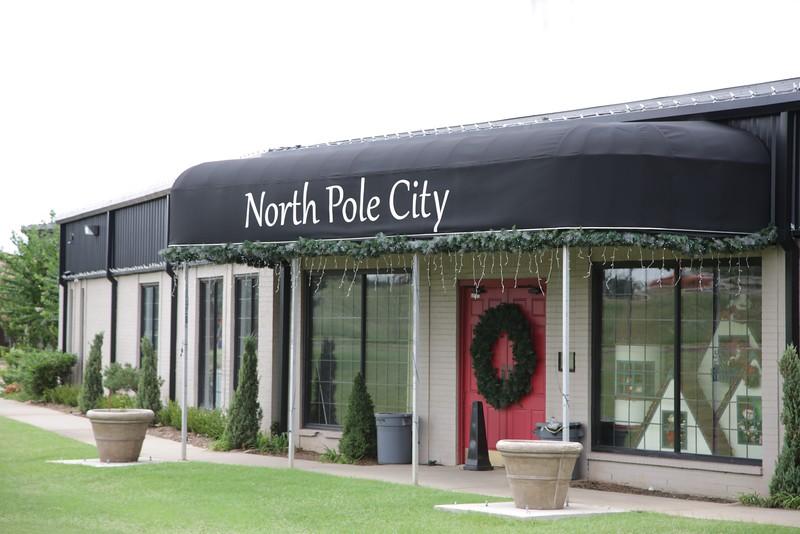 North Pole City in Oklahoma City, OK.