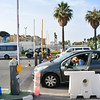 Gibraltar, 17th July 2014 - After waiting three and a half hours to cross vehicles trickled into Spain as Spanish controls allowed only one car to go through every ten minutes. The delays came immediately after the Spanish Ambassador in London was summoned by the British Government following an incident at sea on the 16th July.