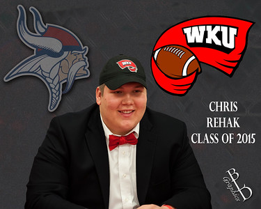 2015 Chris Rehak Signing WKU