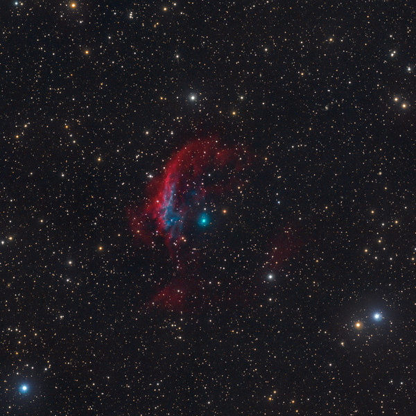 The huge halo of NGC3242