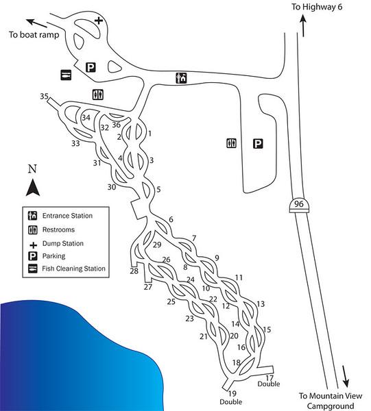 Scofield State Park (Madsen Bay Campground)