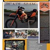 FOR SALE ~ 2007 KTM 525