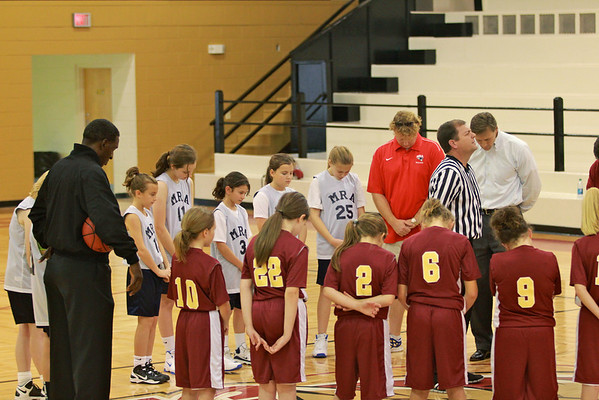 5th Grade Basketball, MRA at Hartfield