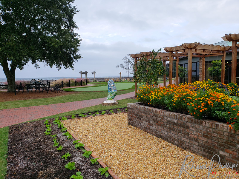 Grand Hotel Garden Area