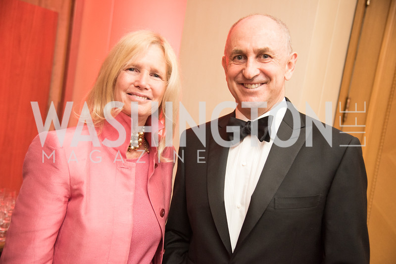 Susan Blumenthal, Chris Liddell, Harvard Business School, Leadership Gala, DC, The Four Seasons, June 13, 2018.  Photo by Ben Droz.