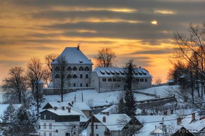 Snowy Kamnik - Feb 5, 2012
