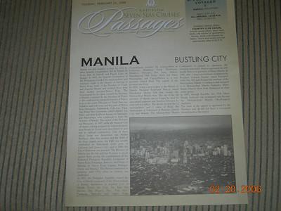 Manila, Philippines (2/21/2006)