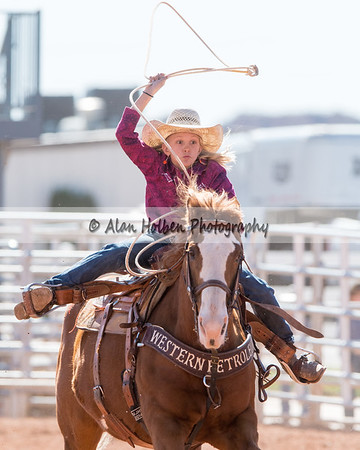 2018 5th and Under Rodeo (Saturday) - Girls Breakaway