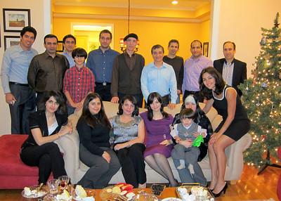At Dr. Pedram's, Jan. '12