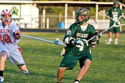 Nease Boys' Lacrosse vs Bolles District Playoffs 4-7-10