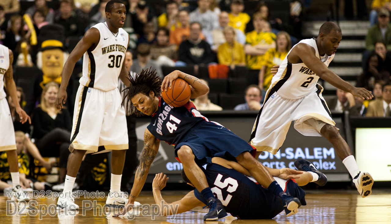 Wake Forest Deacons vs Gonzaga Bulldogs
