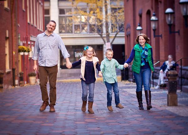 Jason, Melanie, Katelyn, & Anderson - Thanksgiving 2012