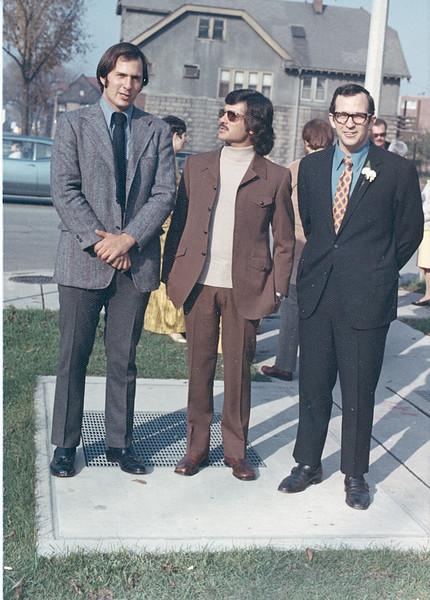 1971-10 John and Greg Ricca & Michael Palazzolo @ Sue & Chuck's Wedding-2.jpg