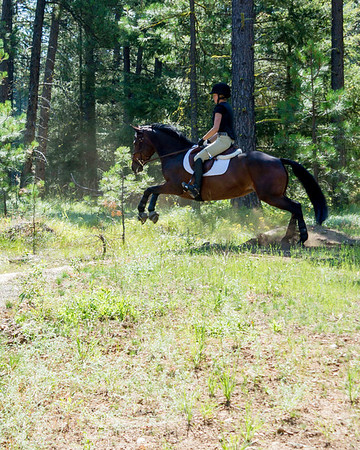Mary Burke Eventing Clinic 7 2013