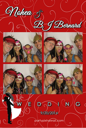 Nohea & BJ Bernard Wedding (Luxury Photo Booth)