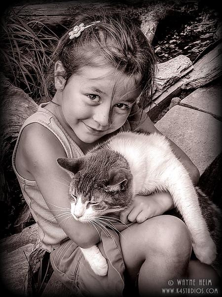 Nice Kitty - Black & White Photography by Wayne Heim
