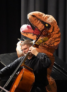 GWU Orchestra at Shelby High School 10/4