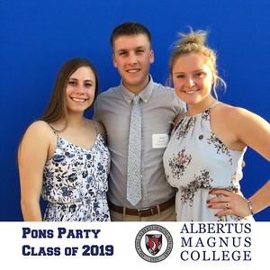 Albertus Magnus College Pons Party 2019