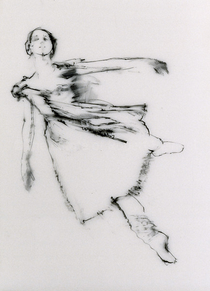 Study for Dancer Ascending II (2003)