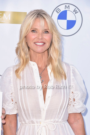 Polo Hamptons with Christie Brinkley in Bridgehampton at the Fishel residence on 7-24-21.