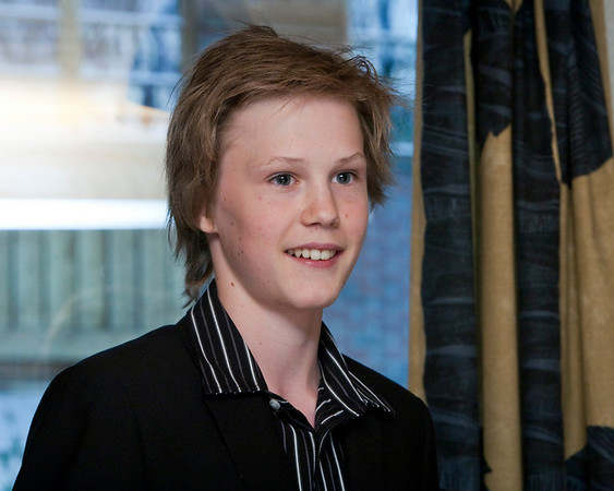 Julian konfirmasjon mai 2009