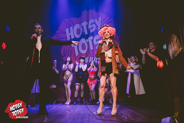 A Hotsy Totsy Burlesque tribute to Doctor Who